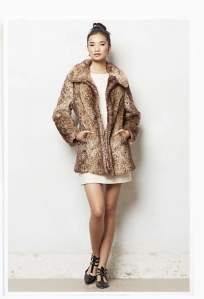 Anthropologie faux fur