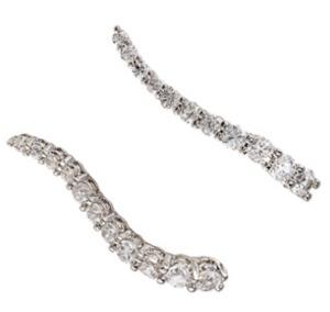 Graziela wave cuff earrings