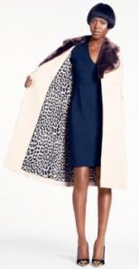 Kate Spade Briella coat- lining
