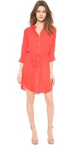 Lily Aldridge for Velvet Jessie Shirt Dress $189